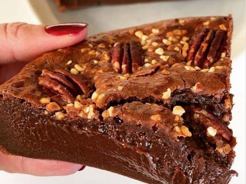 Chocolade fondant taart