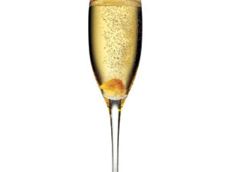 Cocktail met Champagne en meloen
