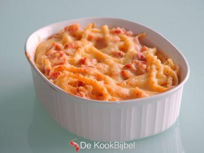 Macaroni Kaas & Ham alla Piet