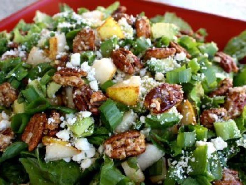 Salad with Roquefort