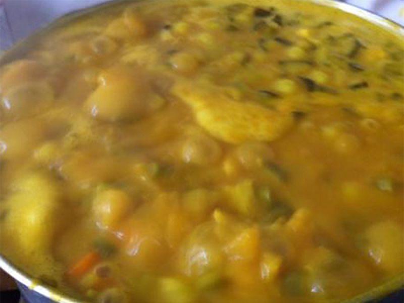 Kalfskotelet met pickles saus