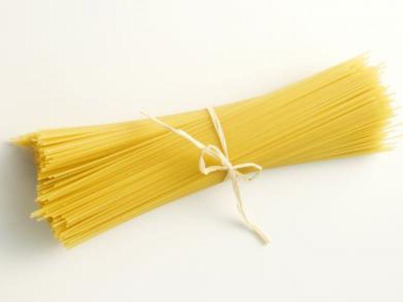 Pasta met asperges en verse spinazie
