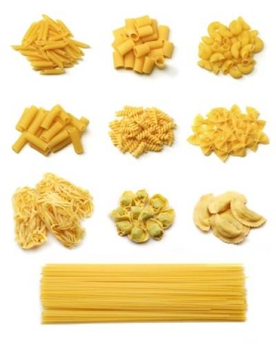 Gedroogde pasta