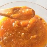Lamskoteletten, compote van gedroogde abrikozen
