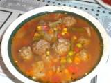 Albondigas soep