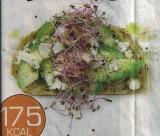 Boterham met avocado en fetakaas