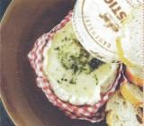 Camembert met Calvados en rozemarijn