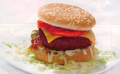Een echte cheeseburger