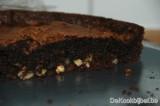 Moelleux van chocolade en hazelnoten