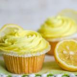 Citroen cupcakes  (Glutenvrij)