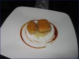 Foie gras met balsamicosaus