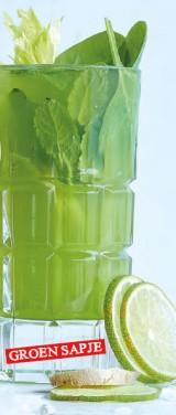 Groen sapje