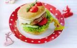Bio hamburger voor kinderen