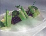 Komkommer met makreel en avocado