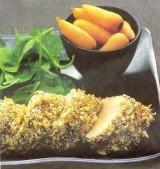 Lam met pistachenoten en witte peper