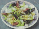 Rauwe makreel salade