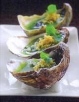 Tartaar van oester met gelei van groene appel