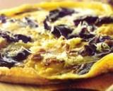 Omelet met tomme en bospaddestoelen