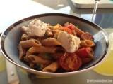 Pasta met courgette en chorizo
