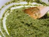 Pesto met olijven