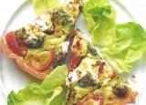 Quiche met broccoli en geitenkaas