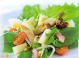 Salade met kip en Maredsous