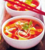 Chinese soep met kip (Suzi Wan)