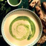 Koud soepje met geitenkaas