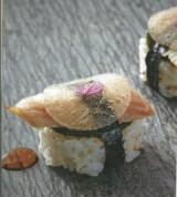 Sushi paling in't groen