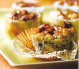 Ricotta-spinazietaartjes met dille