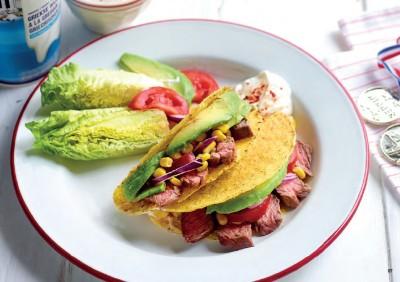 Taco's met rund