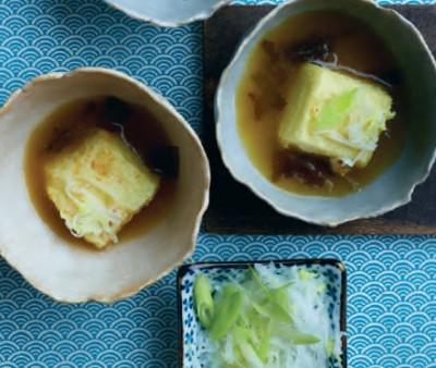 Gefrituurde Tofu (Agedashi Dafu)