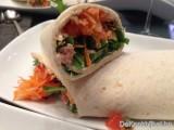 Tortilla met tonijn en fijne groentjes