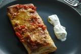 Tortilla gevuld met kip